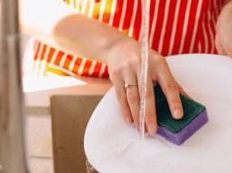 Teeküchenreinigung